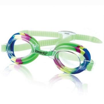Speedo Youth Splasher Tye Dye Goggle - Green