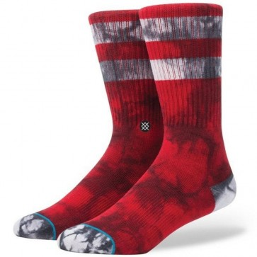 Stance Burned Socks - Red