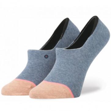 Stance Women's Plain Jane Super Invisible Socks - Blue