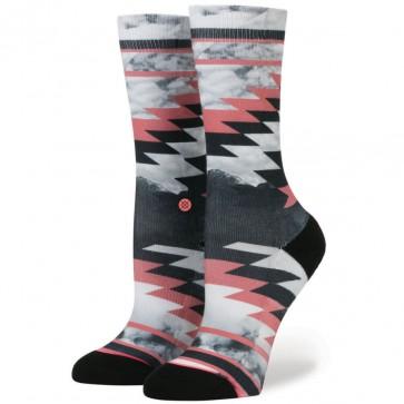 Stance Women's Thunder Storm Socks - Coral