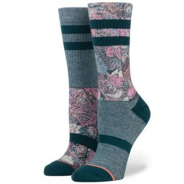 Stance Women's Go East Crew Socks - Teal