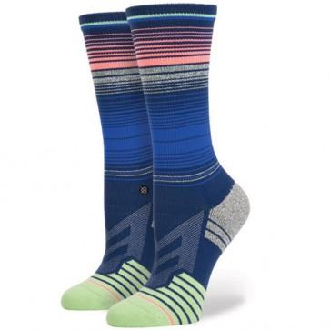 Stance Women's Dip Crew Socks - Navy