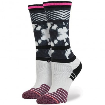 Stance Women's Fitness Crew Socks - Black