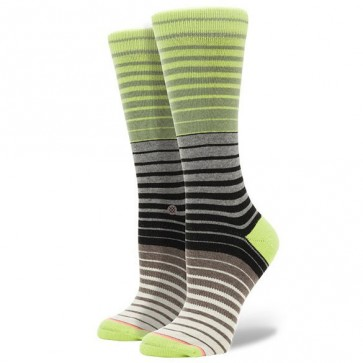 Stance Women's Jessie Socks - Neon Lime