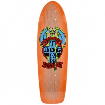 Dogtown Skateboards - Red Dog Orange Fade Deck