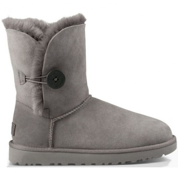 UGG Australia Bailey Button II Boots - Grey
