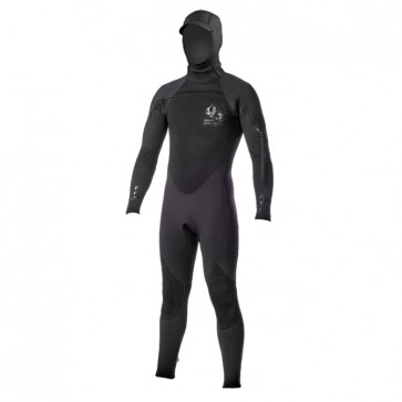 Hotline Ultra Hot Combo 5/4mm Hooded Wetsuit