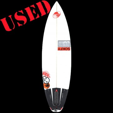 "Edit Industries USED 5'10"" Revo Surfboard"
