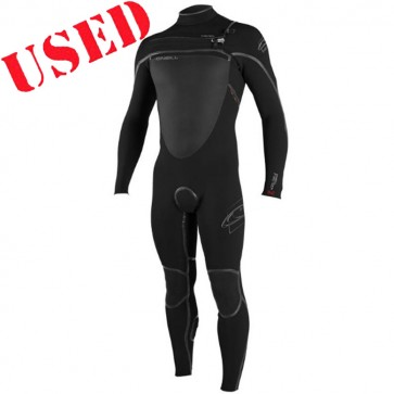 USED O'Neill Pyrotech 3/2 Chest Zip Wetsuit - Size M