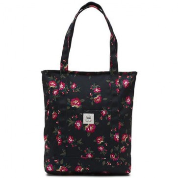 Vans Women's Made For This Tote Bag - Floral/Black