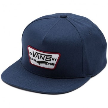 Vans Full Patch Hat - Dress Blues/Rhubarb
