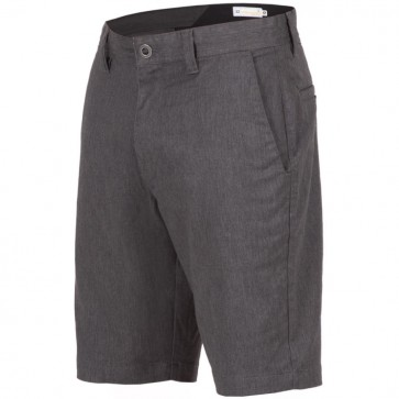 Volcom Frickin Mod Stretch Shorts - Charcoal Heather