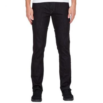 Volcom Vorta Jeans - Black Rinser