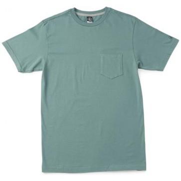 Volcom Pocket Solid T-Shirt - Forest