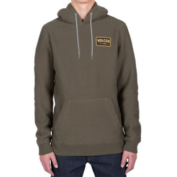 Volcom Shop Pullover Hoodie - Military