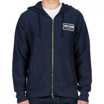 Volcom Shop Zip-Up Hoodie - Navy