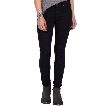 Volcom Women's Liberator Denim Leggings - Rinse