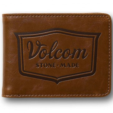 Volcom Corps Wallet - Bear Brown