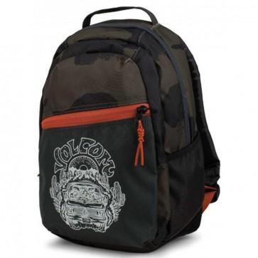 Volcom Youth Grom Backpack - Vineyard Green
