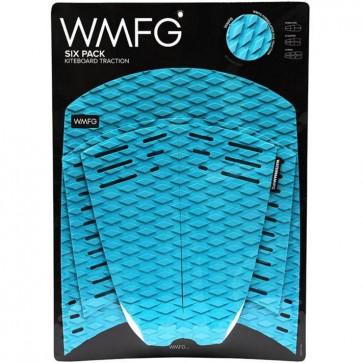 WMFG Six Pack Kiteboard Deck Pad - Teal/White