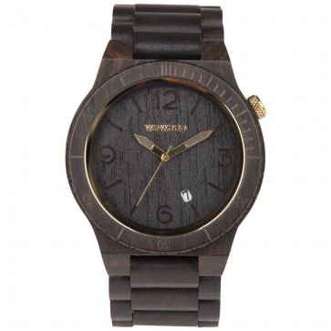 WeWood Alpha Watch - Black Gold