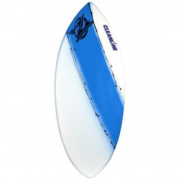 Zap Skimboards Wedge Skimboard - White/Blue