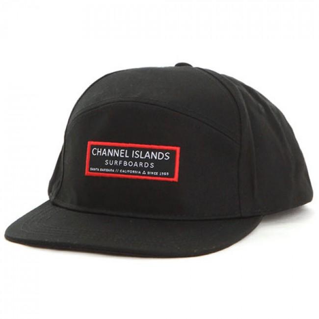 Channel Islands Clean Logo Hat Black Cleanline Surf