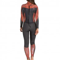 Billabong Women's Synergy 3/2 Flatlock Back Zip Wetsuit