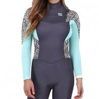 Billabong Women's Synergy 3/2 Chest Zip Wetsuit