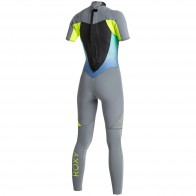 Roxy Women's Syncro 2mm Short Sleeve Full Wetsuit