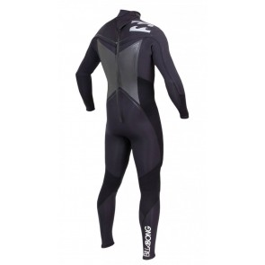 Billabong Foil Back Zip 5/4/3 Wetsuit with Detachable Hood