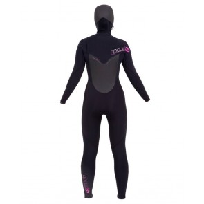 Rip Curl Women's Flash Bomb 5/4 Hooded Chest Zip Wetsuit - 2014