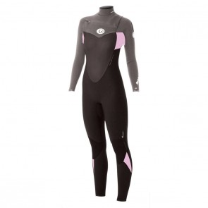 Rip Curl Women's Flash Bomb 4/3 Chest Zip Wetsuit - 2013