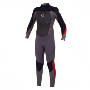 Rip Curl Youth Dawn Patrol 4/3 GB Back Zip Wetsuit - 2014