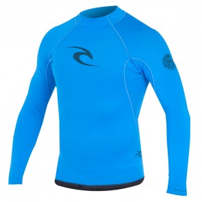 Rip Curl Wetsuits Aggrolite Reversible 1.5mm Long Sleeve Jacket - Black/Blue