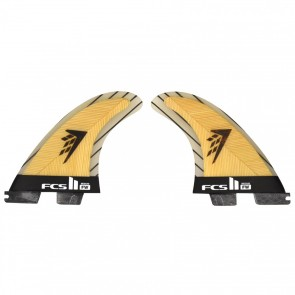 FCS II Fins FW PC Medium - Bamboo/Carbon