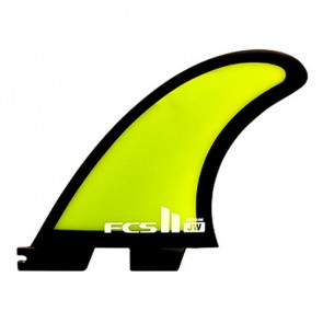 FCS II Fins - JW PG Medium - Black/Lime Green