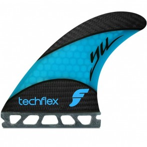 Future Fins - Yoshinori Ueda Techflex - Cyan Hex