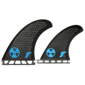 Futures Fins - Gerry Lopez GL1 Quad - Smoke Hex