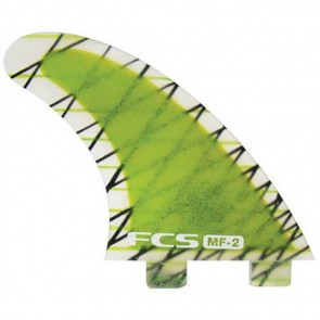 FCS Fins - MF2 PC - Lime Hex