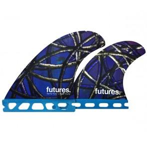 Futures Fins - Danny Fuller Quad - Blue Graphic