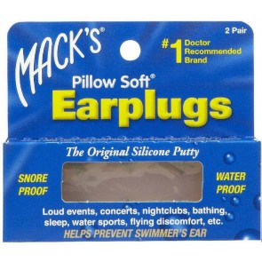 Macks Pillow Soft Ear Plugs - 2 Pack
