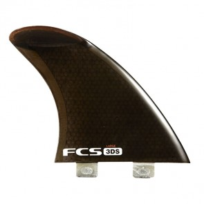 FCS Fins - 3DS PC Side SUP Fin - BlackRed