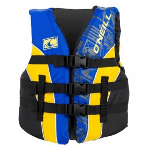 O'Neill - Youth Superlite USCG PFD Vest - Pacific/Yellow/Black