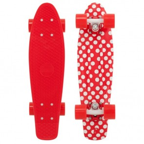 "Penny Skateboards - Holiday Polka Penny 22"" Skateboard Complete - Red/White/Red"