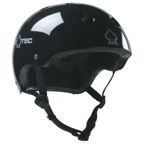 Pro-Tec Classic Certified Skate Helmet - Gloss Black