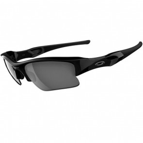 Oakley Flak Jacket XLJ Sunglasses - Jet Black/Black Iridium