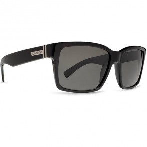Von Zipper Elmore Sunglasses - Black Gloss/Vintage Grey