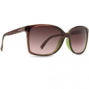 Von Zipper Women's Castaway Sunglasses - Brown Lime Duo/Gradient