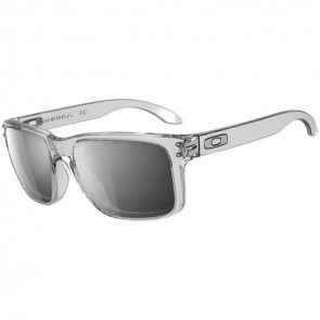Oakley Holbrook Sunglasses - Polished Clear/Chrome Iridium